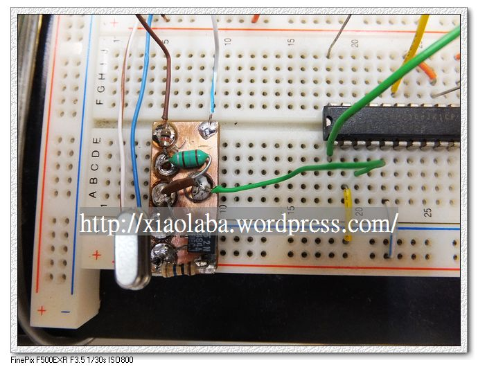 Xtal FET oscillator