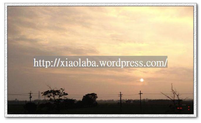 nEO_IMG_2013-01-15 在斗南看到的日落