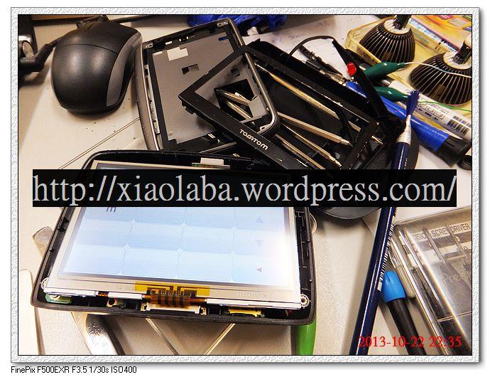 TOMTOM GO 750 touchscreen looks ok