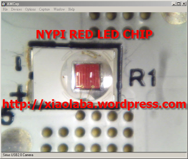 NYPI_RED_LED_CHIP