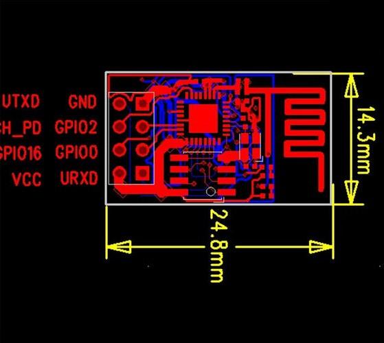 ESP8266-ESP-01-PCB