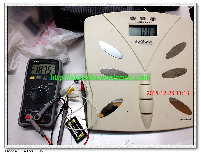 melaleuca weight scale battery drain problem