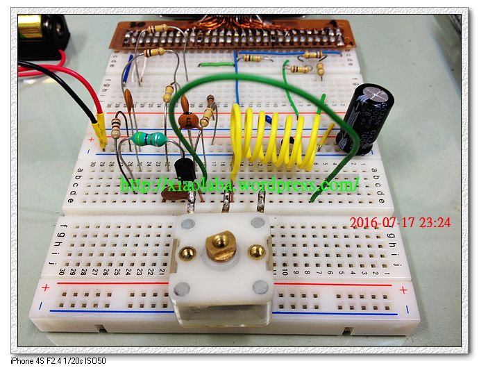 FM Radio LC Tank circuit, build and tune air coil for FM crystal radio set