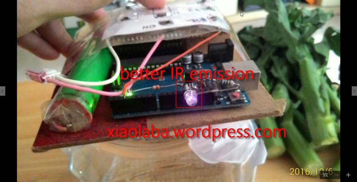 Arduino IR transceiver upgrade
