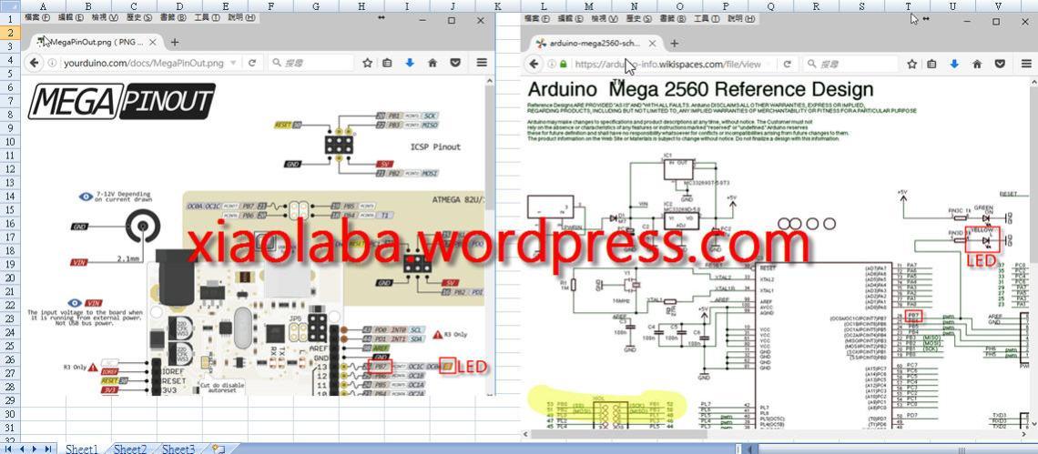 ATmega2560_PB7_LED_pin