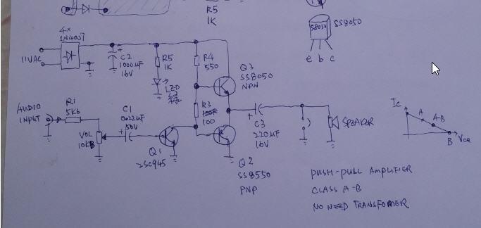 push-pull-amplifier-schematic