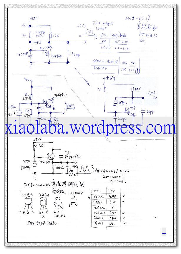 xiaolaba_HC908JB8_12MHZ_OSC